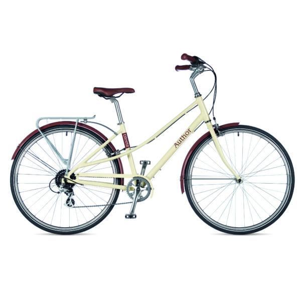 Gloria női városi kerékpár, cappuccino/cappuccino - AUTHOR
