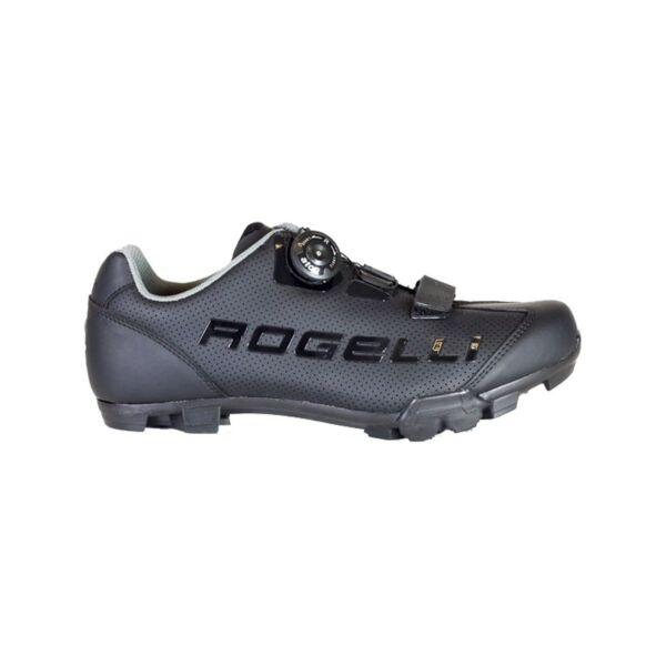 Ab-410 uniszex Mtb cipő, fekete/szürke - ROGELLI