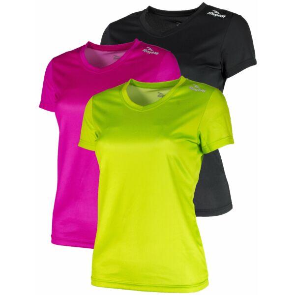 Dámské funkční triko Rogelli PROMOTION Lady, 3 ks - barevný mix, různé velikosti