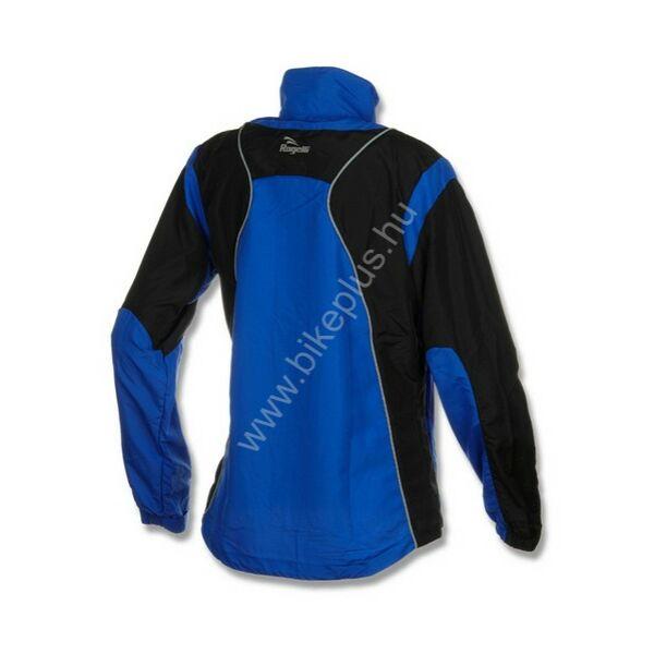 Elvi női futó szélkabát, kék/fekete - ROGELLI