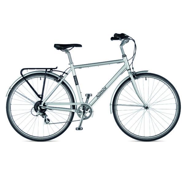Voyage férfi városi kerékpár, ezüst/ezüst - AUTHOR