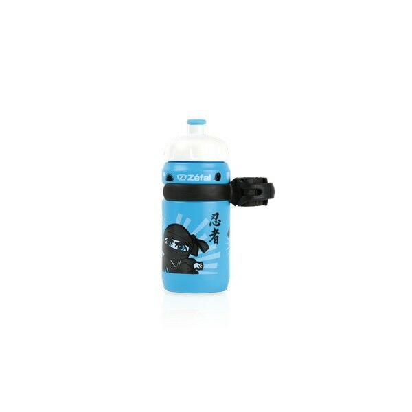Kulacs LITTLE-Z NINJA BOY gyerek kulacs univerzális tartóval 350 ml, kék - ZEFAL