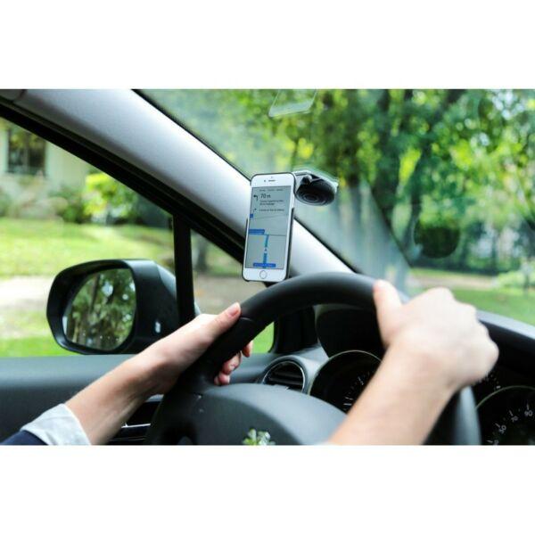 Z CAR MOUNT okostelefon tartó konzol autóba, fekete/piros - ZEFAL