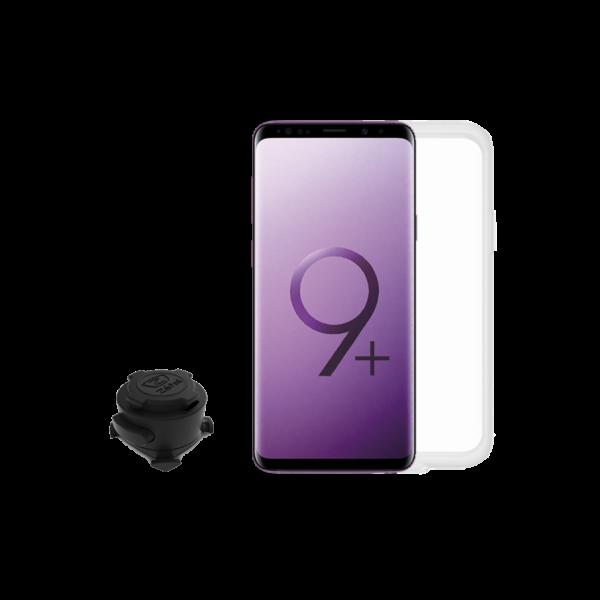 Z CONSOLE Samsung S8 /S9  full kit mobiltelefon tartó fekete - ZEFAL
