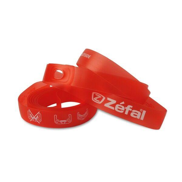 SOFT PVC RIM TAPES tömlővédő szalag 559 x 18 mm (2 db), piros - ZEFAL