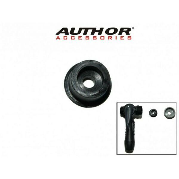 Pumpafej gumibetét DualHead 2 FV, fekete - AUTHOR