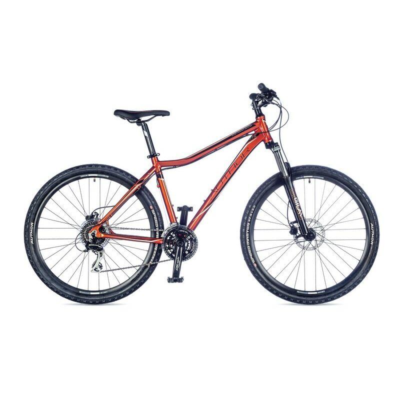 """Solution ASL női MTB 27,5"""" kerékpár, narancs/fekete - AUTHOR"""