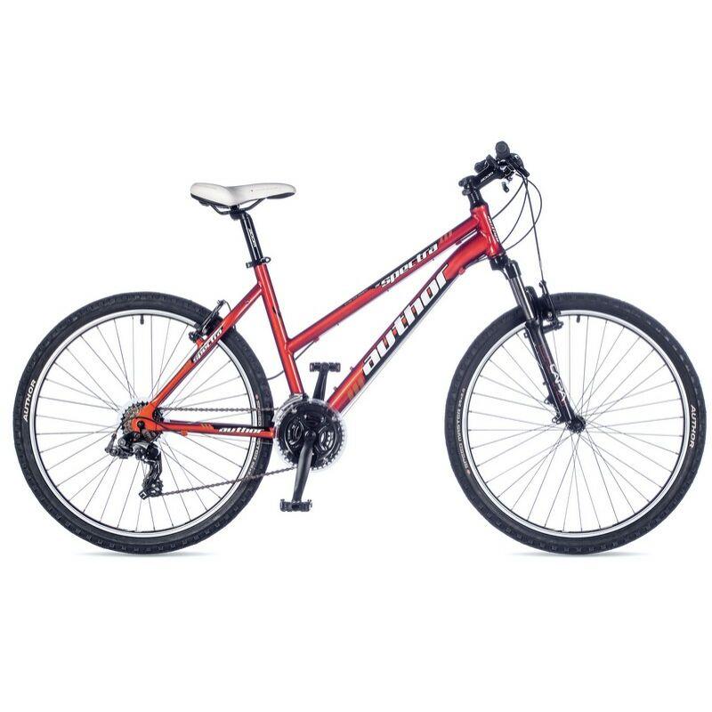 """Spectra női MTB 26"""" kerékpár, narancs/fekete - AUTHOR"""