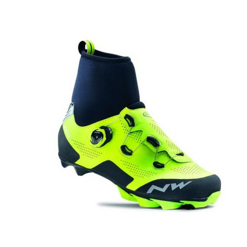 Cipő NORTHWAVE MTB RAPTOR GTX 41 téli, flou sárga