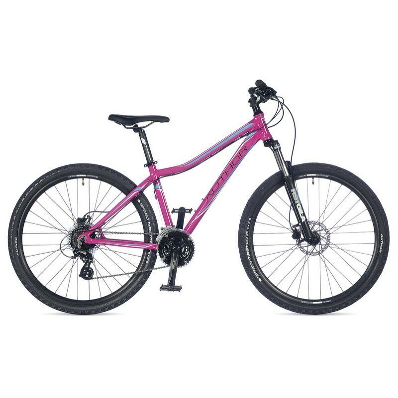 """Impulse ASL női 27"""" MTB kerékpár, rózsaszín/kék/fekete - AUTHOR"""
