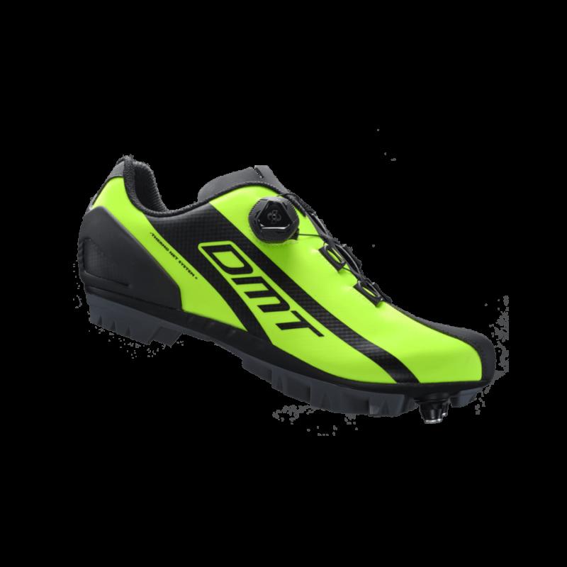 M5 MTB kerékpáros cipő, fluorit sárga/fekete - DMT