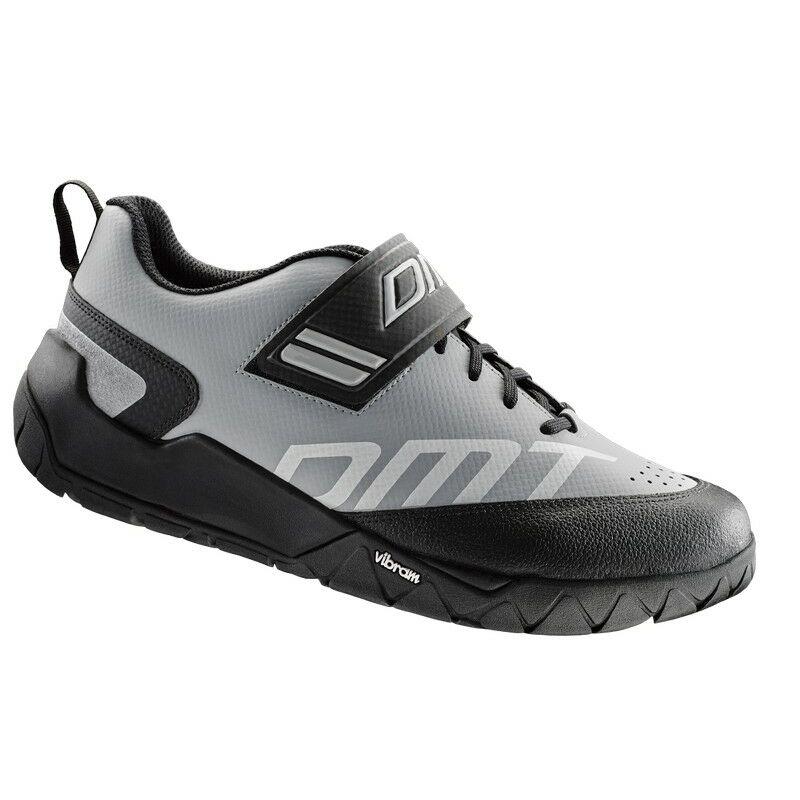 E2 túra kerékpáros cipő, szürke/fekete - DMT