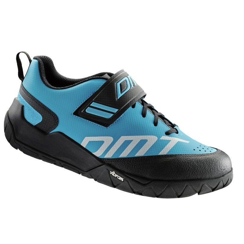 E2 túra kerékpáros cipő, világoskék/fekete - DMT