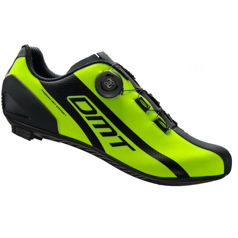 R5 országúti kerékpáros cipő, fluorit sárga/fekete - DMT