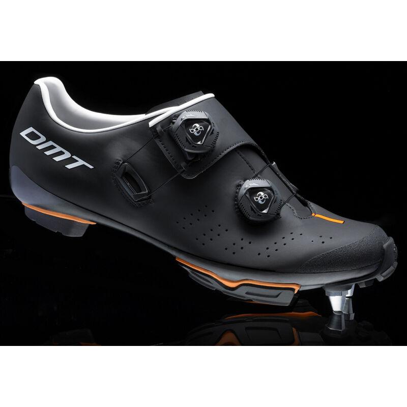 DM1 MTB kerékpáros cipő, fekete/fehér/narancs - DMT