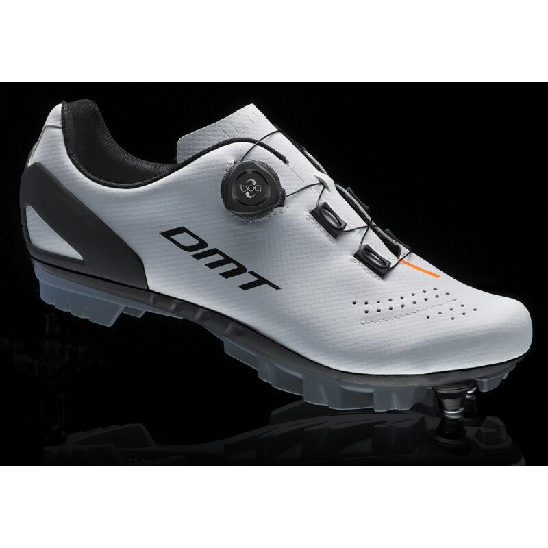 DM5 MTB kerékpáros cipő, fehér/fekete/narancs - DMT