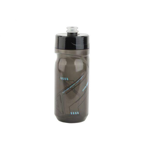 Kulacs AB-ScrewOn X9 600 ml, átlátszó fekete/ kék - AUTHOR