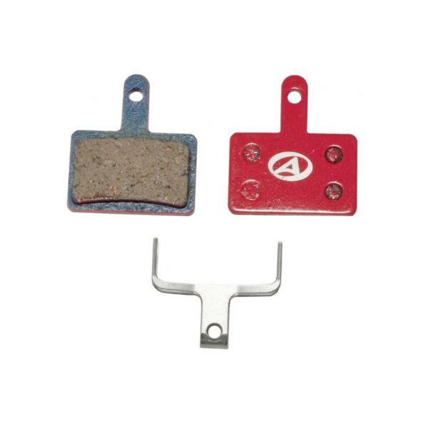 Fékbetét tárcsafékhez ABS-23 SHI B01, piros - AUTHOR