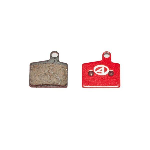 Fékbetét tárcsafékhez ABS-45 HAYES STROKER RYDE, piros - AUTHOR