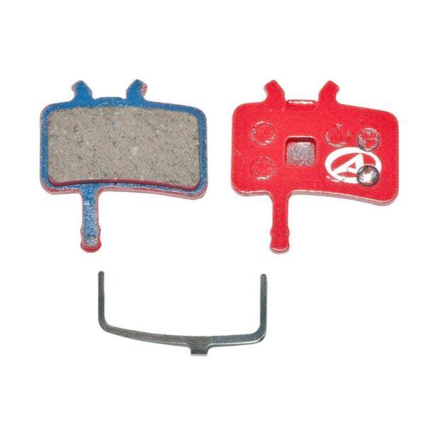 Fékbetét tárcsafékhez ABS-61 AVID JUICY, piros - AUTHOR