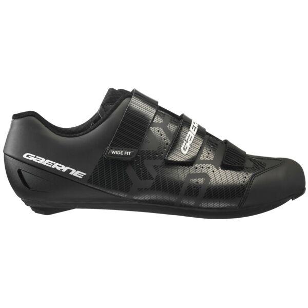 Record férfi országúti cipő (széles), fekete - Gaerne
