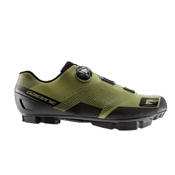Hurricane férfi MTB cipő, matt olivazöld - Gaerne