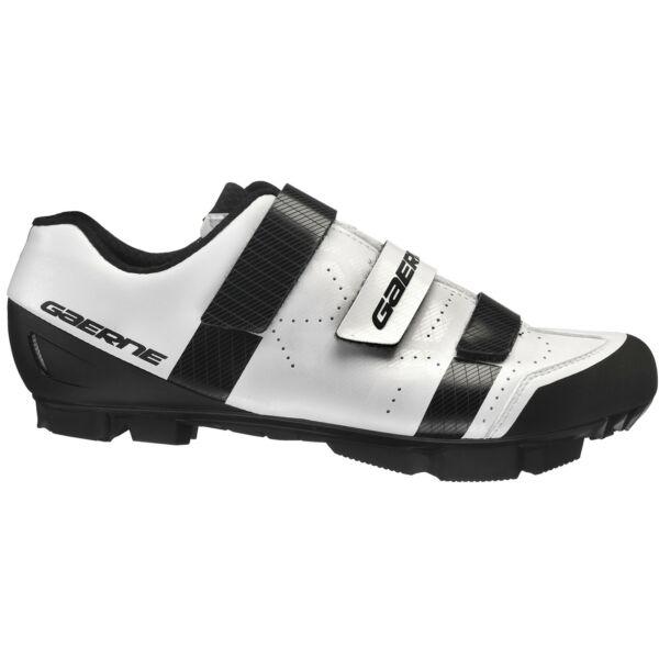 Laser férfi MTB cipő, fehér - Gaerne