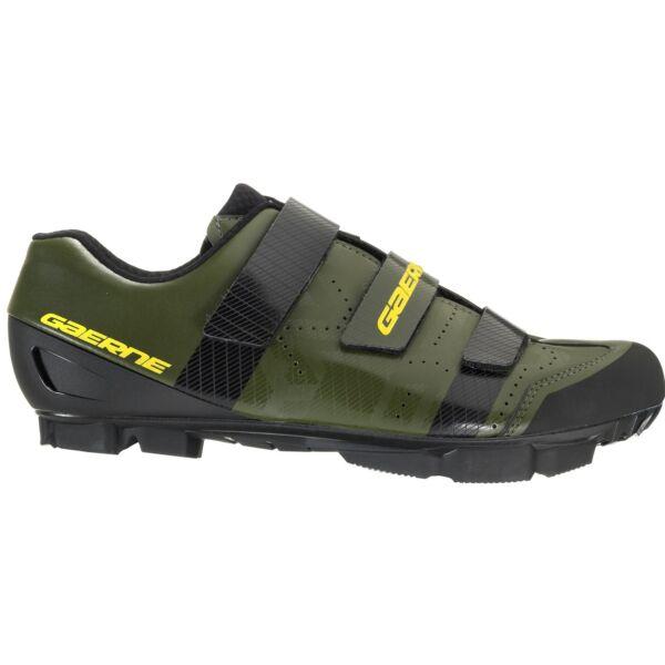 Laser férfi MTB cipő, zöld - Gaerne
