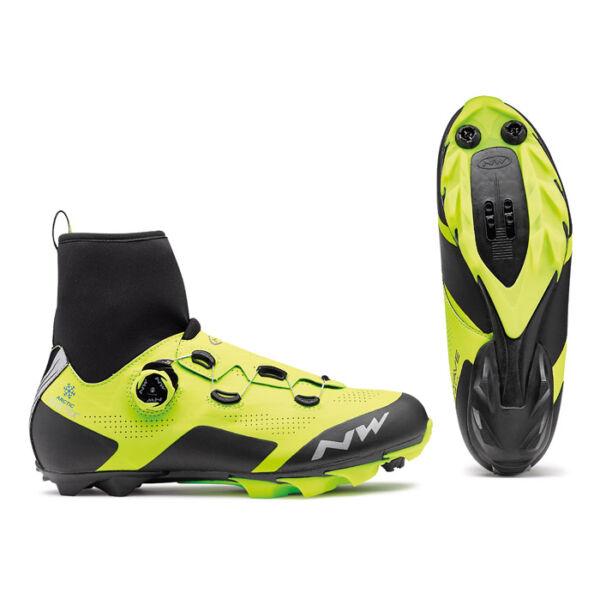 Cipő MTB RAPTOR GTX, fluo sárga - NORTHWAVE