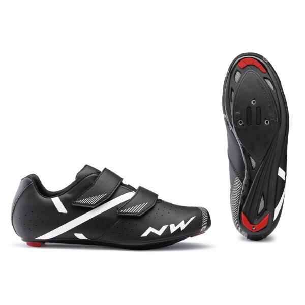 Cipő ROAD JET 2 45,5 fekete - NORTHWAVE
