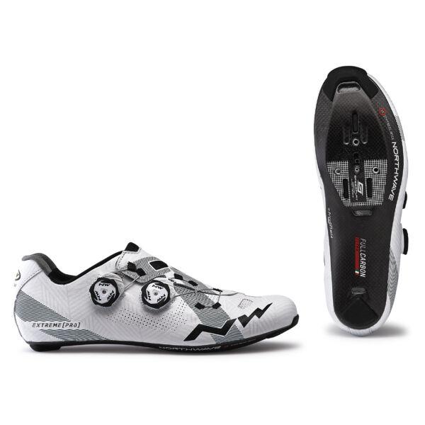 Cipő ROAD EXTREME PRO 44 fehér - NORTHWAVE