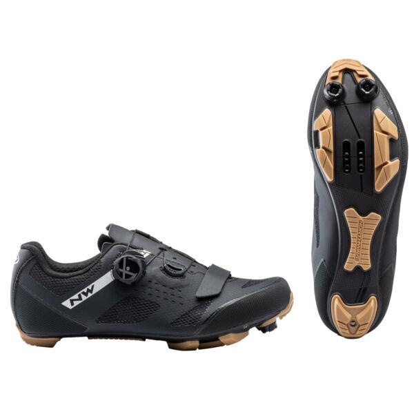 Cipő MTB RAZER 40,5 fekete/méz - NORTHWAVE