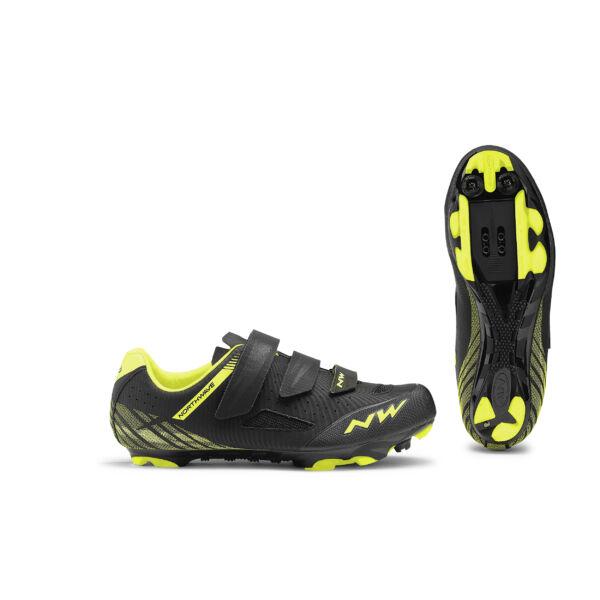 Cipő MTB ORIGIN 42 fekete-fluo sárga - NORTHWAVE