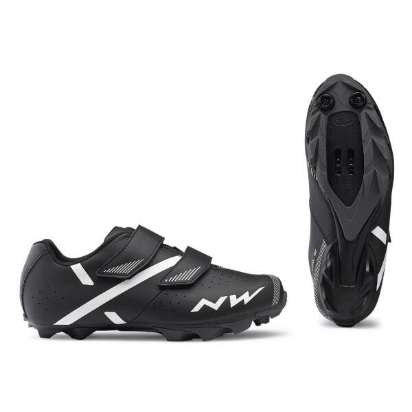 Cipő MTB SPIKE 2 42,5 fekete - NORTHWAVE