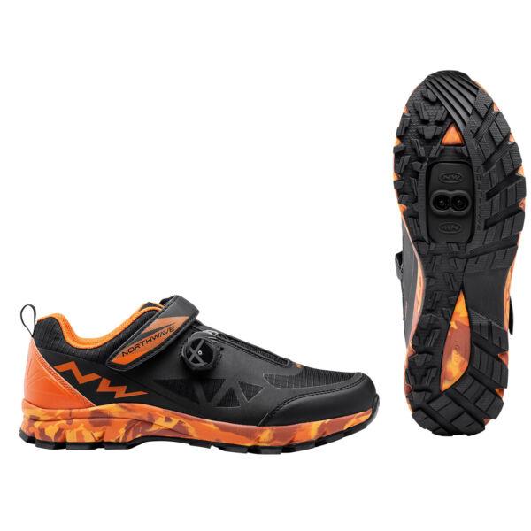 Cipő ALL.TER. CORSAIR 48 fekete/narancs - NORTHWAVE