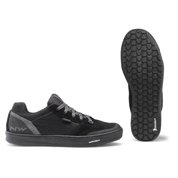 Cipő FLAT TRIBE 46 fekete taposó pedálhoz - NORTHWAVE