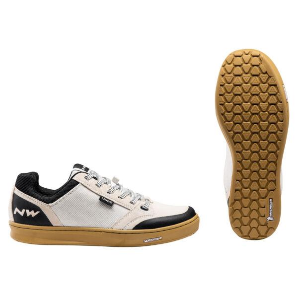 Cipő FLAT TRIBE 43 fehér taposó pedálhoz - NORTHWAVE