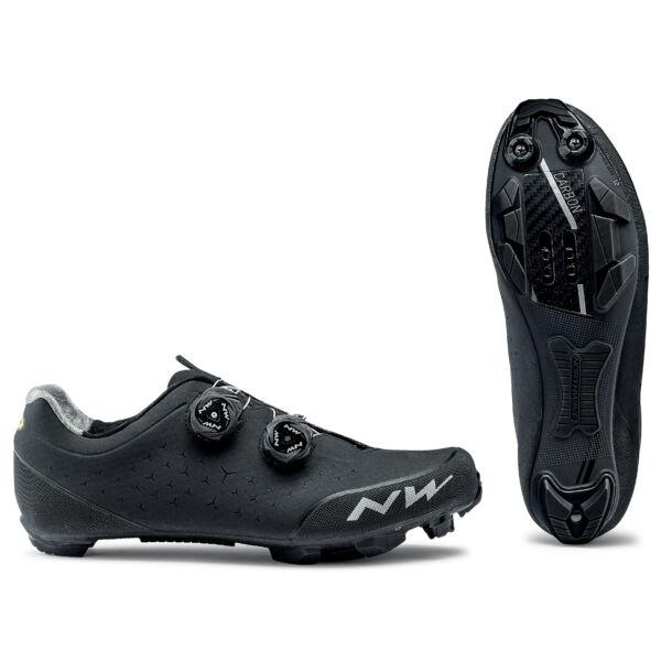 Cipő MTB REBEL 2 43,5 fekete - NORTHWAVE
