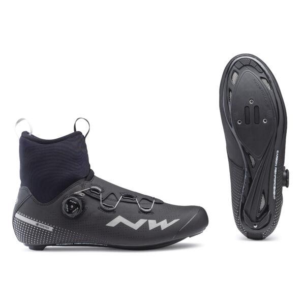 Cipő ROAD CELSIUS R GTX 44 téli, fekete - NORTHWAVE