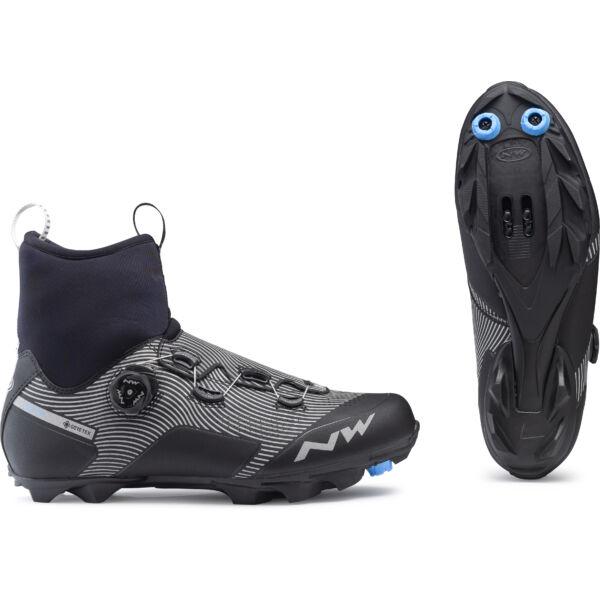 Cipő MTB CELSIUS XC ARCTIC 45 téli, fekete/fényvisszaverős - NORTHWAVE
