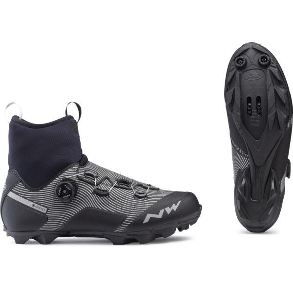 Cipő MTB CELSIUS XC GTX 44 téli, fekete/fényvisszaverős - NORTHWAVE