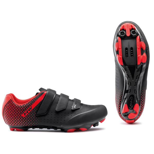 Cipő MTB ORIGIN 2 39 fekete/piros - NORTHWAVE