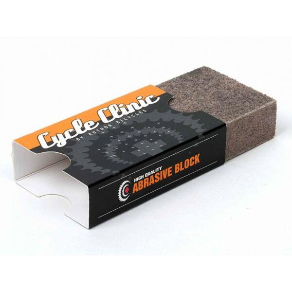 Csiszolóblokk tárcsafékhez CC N40 puha, szürke - AUTHOR