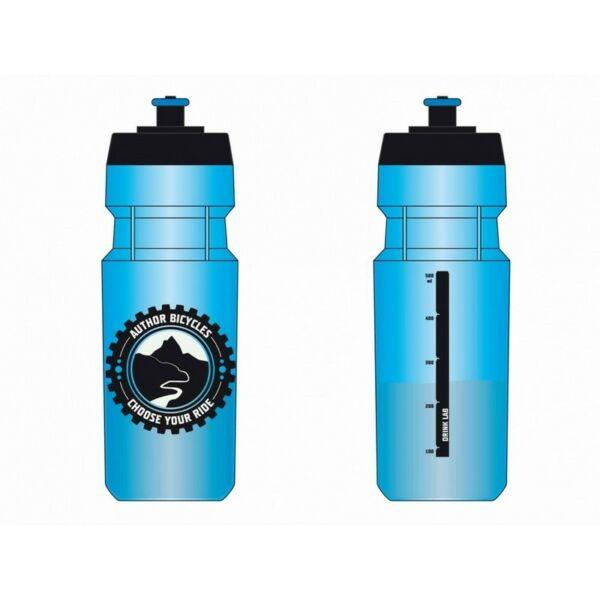 Kulacs AB-ScrewOn 700 ml, 141 átlátszó kék - AUTHOR