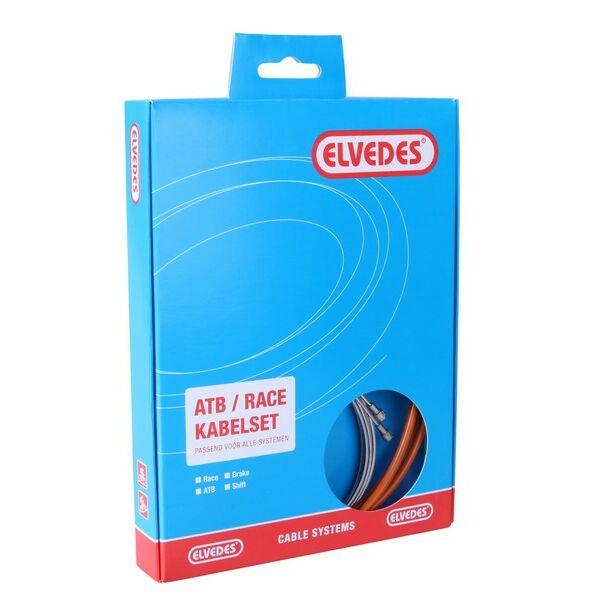 Fékbovden külső-belső szett ATB/RACE, narancs - ELVEDES