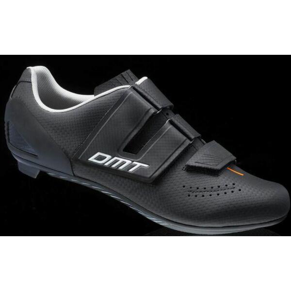 Cipő országúti D6 fekete 44 - tépőzáras - DMT