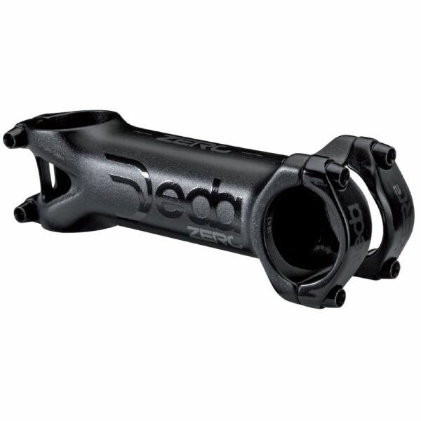 Kormányfej Zero2 31.7x80mm 83 fényes fekete POB - DEDA