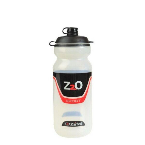 Kulacs Z2O SPORT 60, szelepes kulacs 600 ml szelepvédővel, átlátszó - ZEFAL
